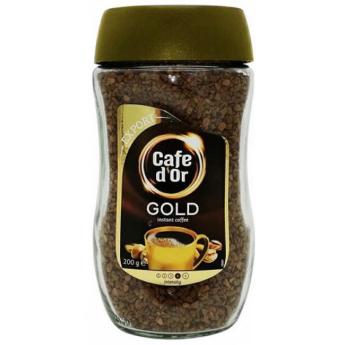 Кофе растворимый черный Cafe d'Or Gold Export, 200 г -