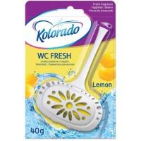 Освежитель для туалета Kolorado лимон, 40 г