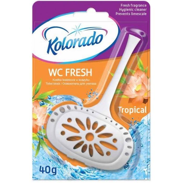 Освежитель для туалета Kolorado тропический, 40 г -