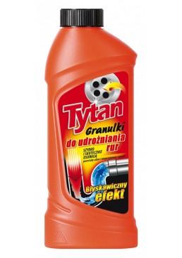 Гранулированное средство для чистки труб Tytan 500г