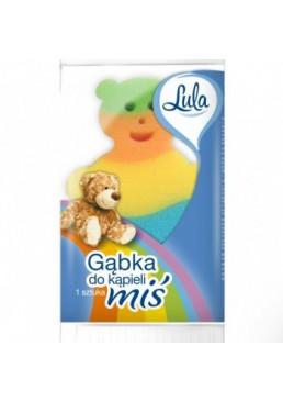 Губка банная детская Lula Медвежонок, 1 шт
