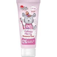 Зубная паста Pink Elephant Шиншилла Мила, 50 мл