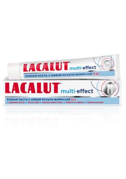 Зубная паста Lacalut Multi-effect, 75мл
