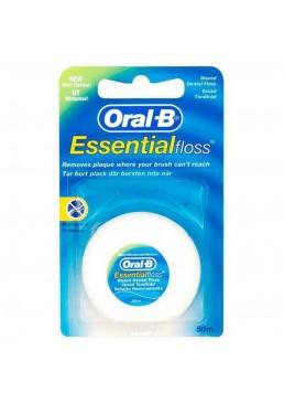 Зубная нить Oral-B Essential Floss Воскованая 50 м