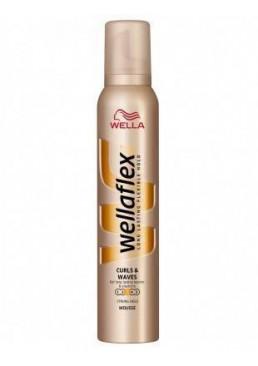 Мусс для волос Wellaflex №3 Кудри и локоны, 200 мл