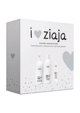 Набор косметики Ziaja Козье Молоко (крем-мыло для душа, молочко для тела, крем для рук)
