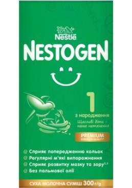 Смесь сухая молочная Nestogen 1 с лактобактериями L. Reuteri для детей с рождения, 300 г