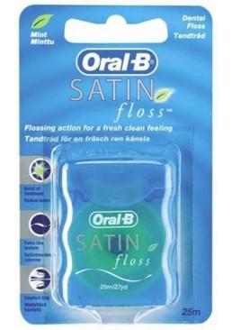Зубная нить Oral-B Satin Floss, 25 м