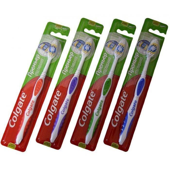 Зубная щетка Colgate Премьер Отбеливания -