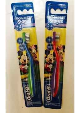 Зубная щетка для детей Oral-B Stages  (2-4 года)