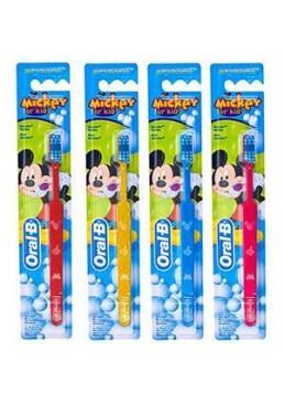 Зубная щетка для детей Oral-B Kids Mickey экстра мягкая, 1 шт