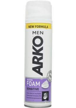 Пена для бритья ARKO Sensitive, 200 мл
