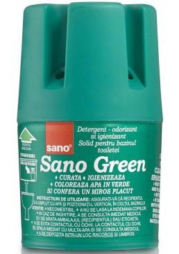 Средство для унитаза Sano Green для мытья и дезинфекции, 150 г