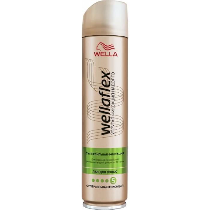 Лак для волос Wellaflex №5 Суперфиксация, 250 мл -