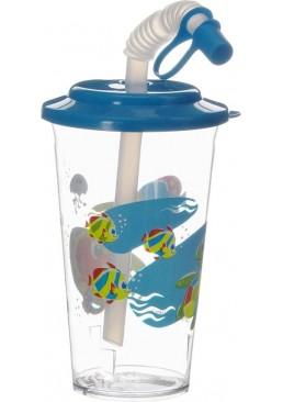 Поильник с трубочкой Canpol Babies цвета в асортименте, 320 мл