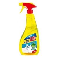 Чистящее средство для ванных комнат W5 Badreiniger Лимон, 750 мл
