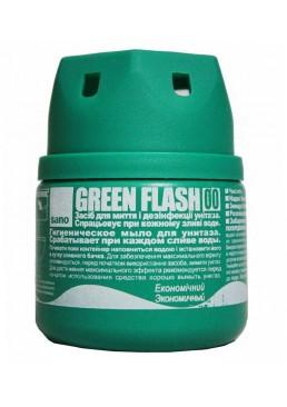 Средство для унитаза Sano Green Flash для мытья и дезинфекции, 200 г