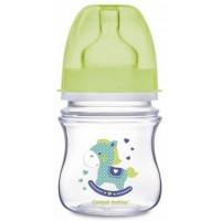 Бутылка с широким отверстием EasyStart Canpol babies антиколиковая, 120 мл