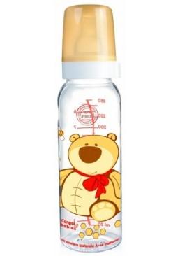 Тритановая бутылочка с рисунком Сanpol Вabies веселые зверюшки, 250 мл