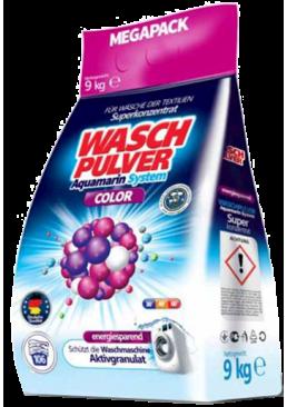 Стиральный порошок Wasch Pulver Color, 9 кг (106 стирок)