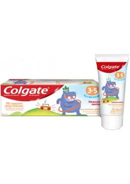 Детская зубная паста Colgate без фтора Нежная мята от 3 до 5 лет, 60 г