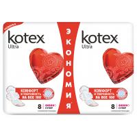 Гигиенические прокладки Кotex Ultra Dry Super, 16 шт