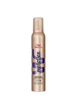 Мусс для волос Wellaflex Объём для тонких волос Суперсильная фиксация, 200 мл