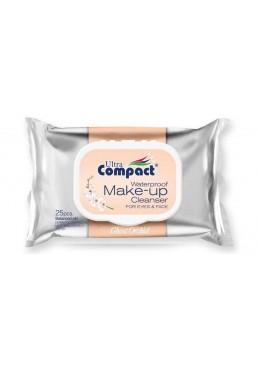 Влажные салфетки для снятия макияжа Ultra Compact 25шт