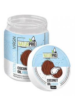 Нерафинированное кокосовое масло NaturPro Coconut Oil Virgin для волос, 250 мл
