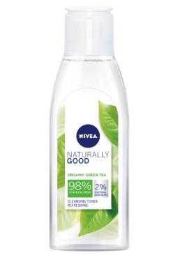 Очищающий тоник для лица Nivea Naturally Good Cleansing Refreshing Toner, 200 мл