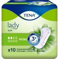 Урологические прокладки Tena Lady Slim Mini, 10 шт