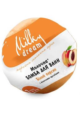Бомба для ванн Milky Dream Белый персик с молочными протеинами, 100 г