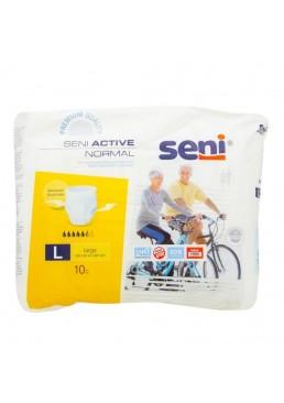 Подгузники-трусики для взрослых Seni Active Normal Large, 10 шт