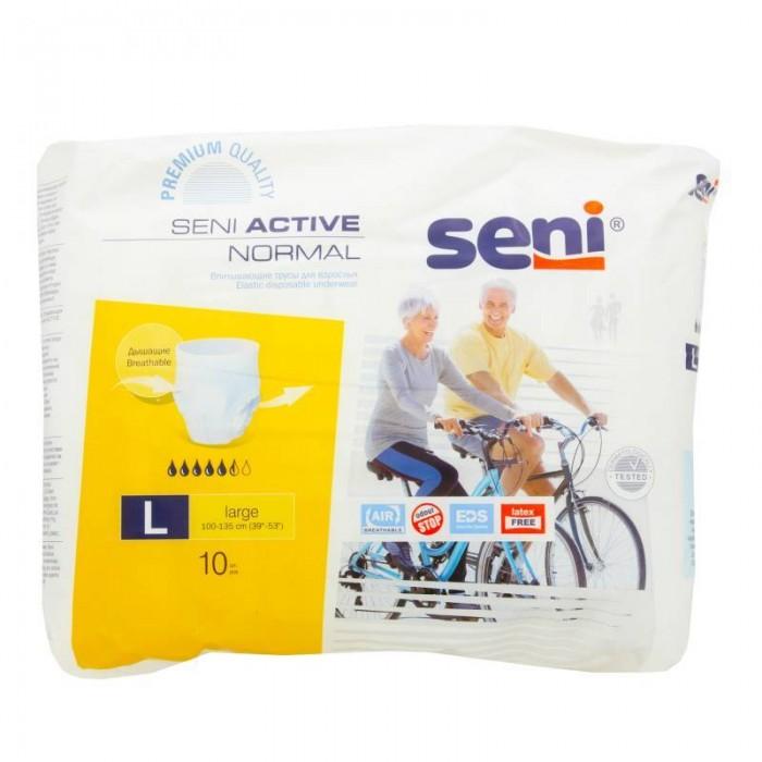Подгузники-трусики для взрослых Seni Active Normal Large, 10 шт  -