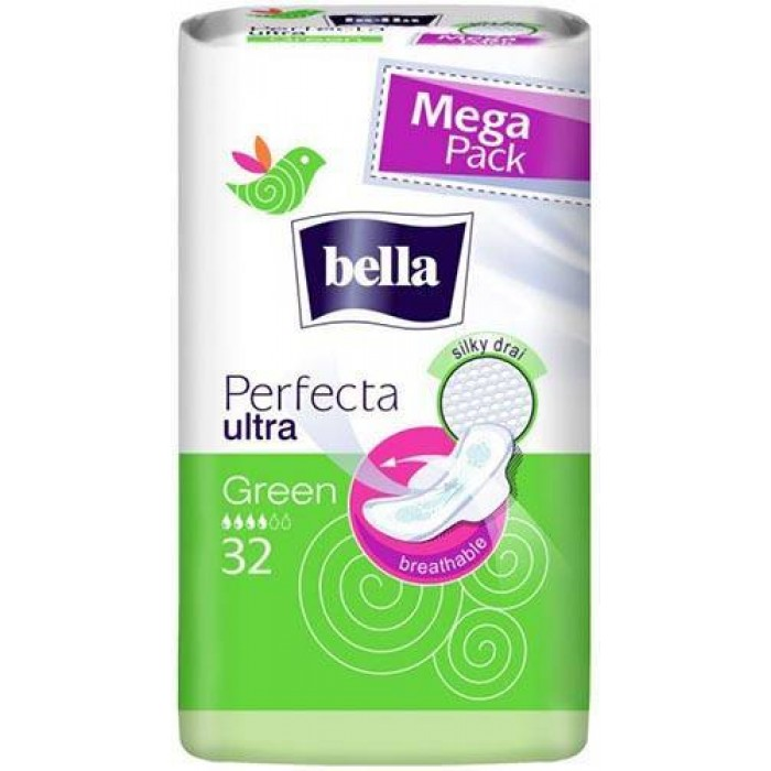 Гигиенические прокладки Bella Perfecta Ultra Green, 32 шт -