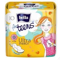 Гигиенические прокладки Bella for Teens: Ultra Energy 10 шт
