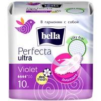 Гигиенические прокладки Bella Perfecta Ultra Violet Deo Fresh 10 шт