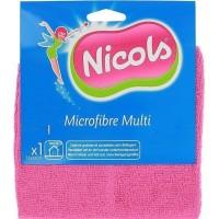 Салфетка Nicols Multi Микрофибра универсальная (50 х 60 см), 1 шт