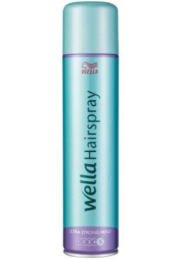 Лак для волос Wella Wellaflex Classic Ultra Strong Hold супер сильной фиксации, 400 мл