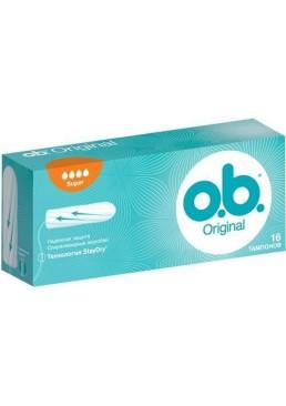 Тампоны o.b. Original Super 4 капли, 16 шт