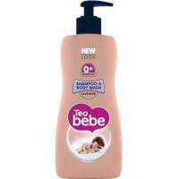 Шампунь и гель для купания для детей Teo Bebe Lavender с экстрактом лаванды, 400 мл