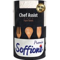 Бумажные полотенца Soffipro Chef Assist 300 листов, 1 рулон