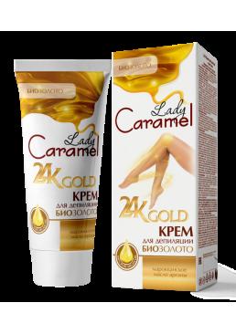 Крем для депиляции тела Lady Caramel 24K Gold, 200 мл