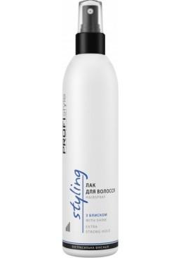 Лак для фиксации волос Profistyle с блеском, 250 мл