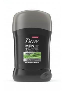 Дезодорант-стик Dove Men + Care Свежесть минералов и шалфея, 50 мл