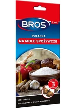 Средство Bros от пищевой моли, 2 шт