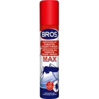 Репеллентное средство Bros Аэрозоль от комаров и клещей MAX, 90 мл
