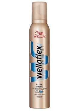 Мусс для волос Wella Wellaflex Mousse Volume Extra Strong, 200 мл