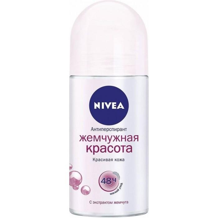 Дезодорант-антиперспирант Nivea Жемчужная красота, 50 мл -