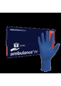 Перчатки латексные Ambulance PF Ultra повышенной прочности размер L, 50 шт